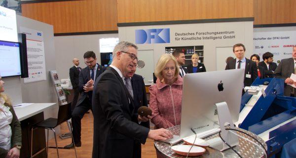 Saarländische Informatik auf dem weltweit größten Schauplatz für Digitalisierung – CeBIT