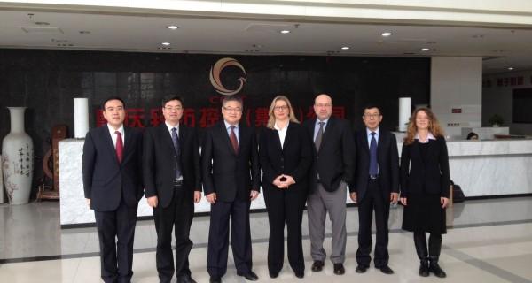 Technologiestandort Saarland präsentiert sich in China
