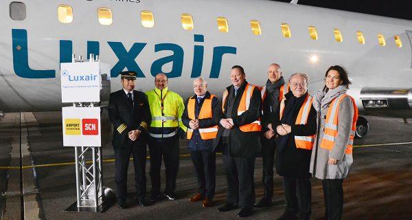 Luxair Luxembourg Airlines verbindet Saarbrücken mit der Hauptstadt